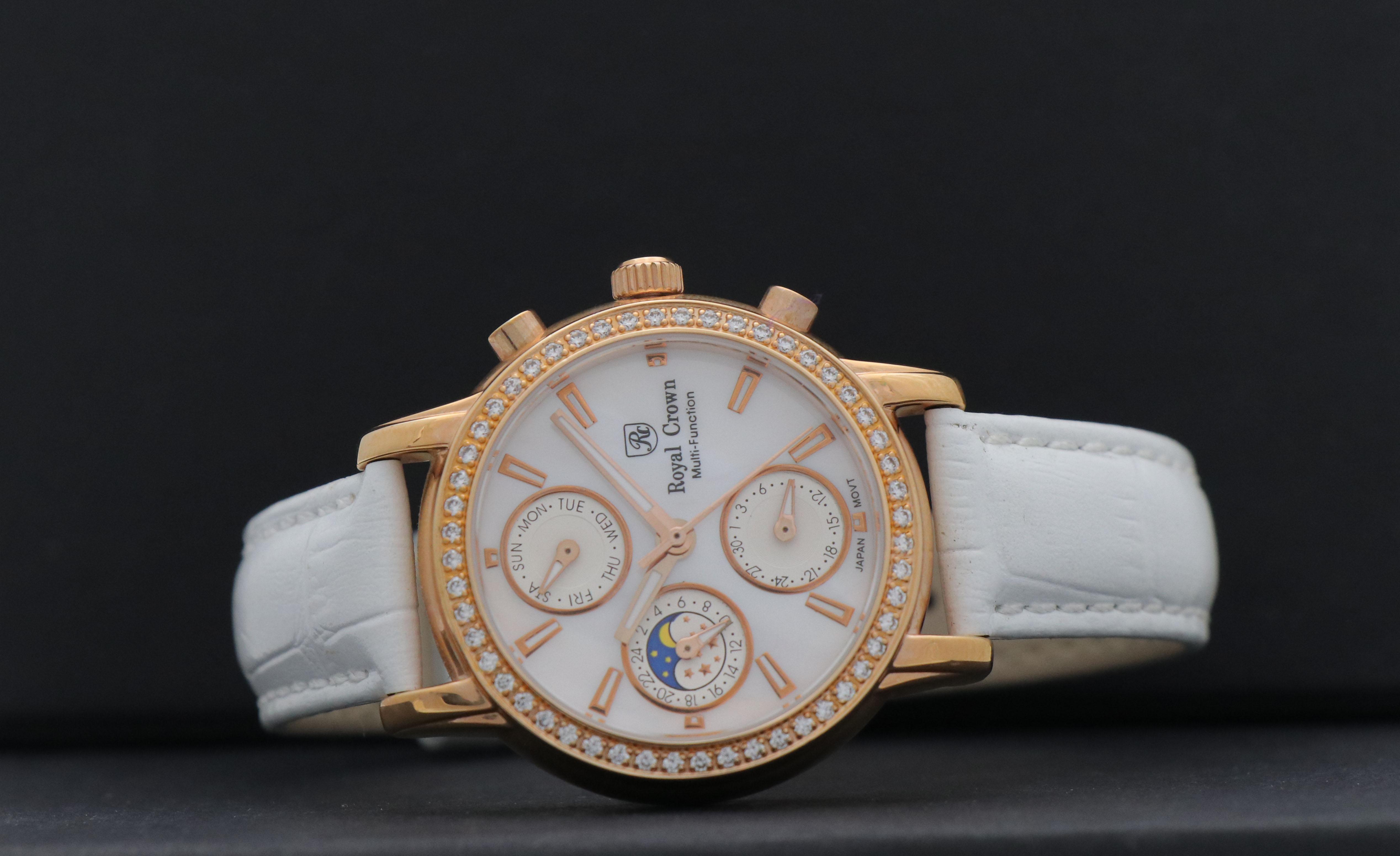 ساعت مچی عقربه ای زنانه رویال کرون مدل ۶۴۲۰