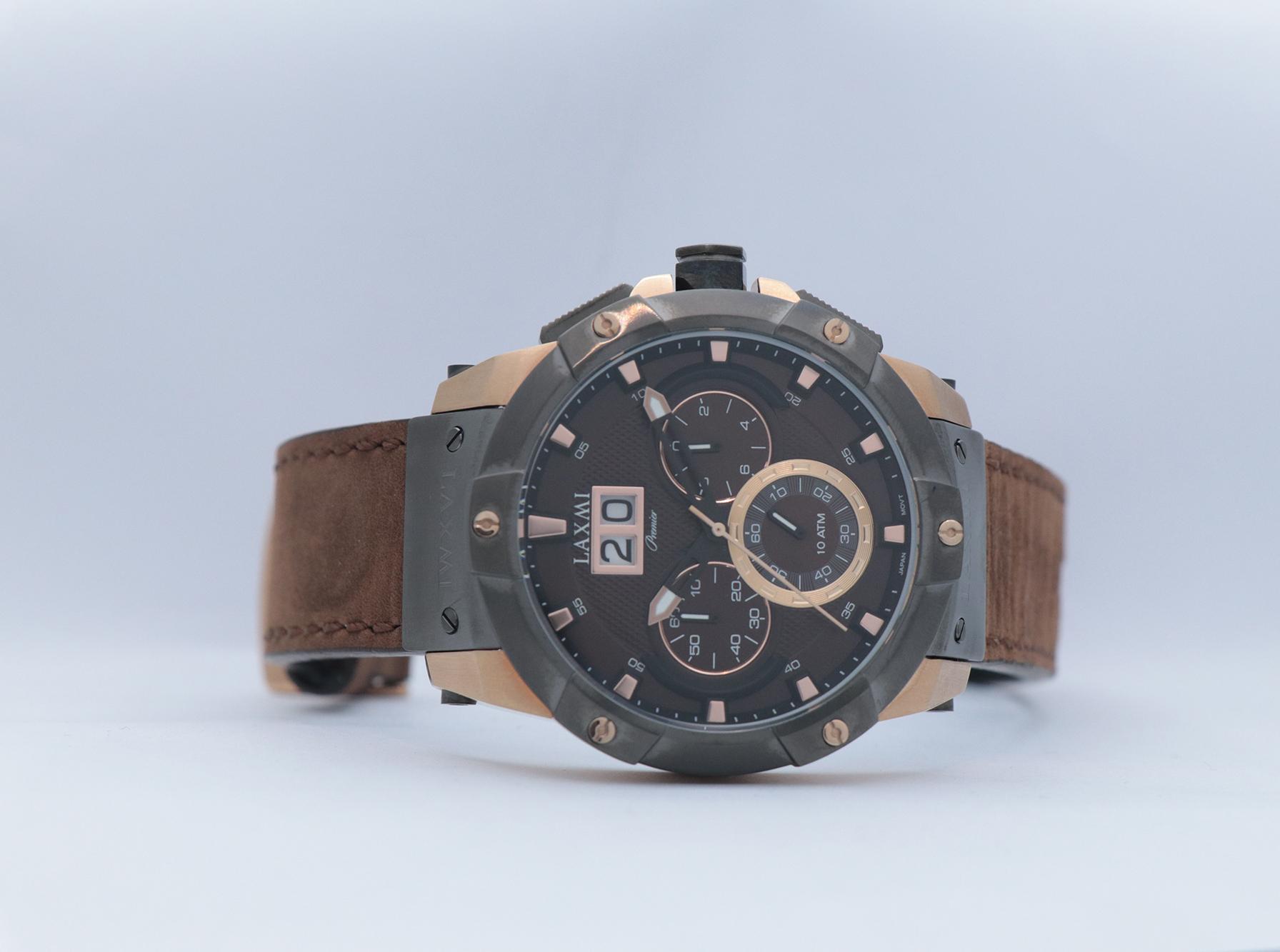 ساعت مچی عقربه ای مردانه لاکسمی مدل ۸۰۱۲