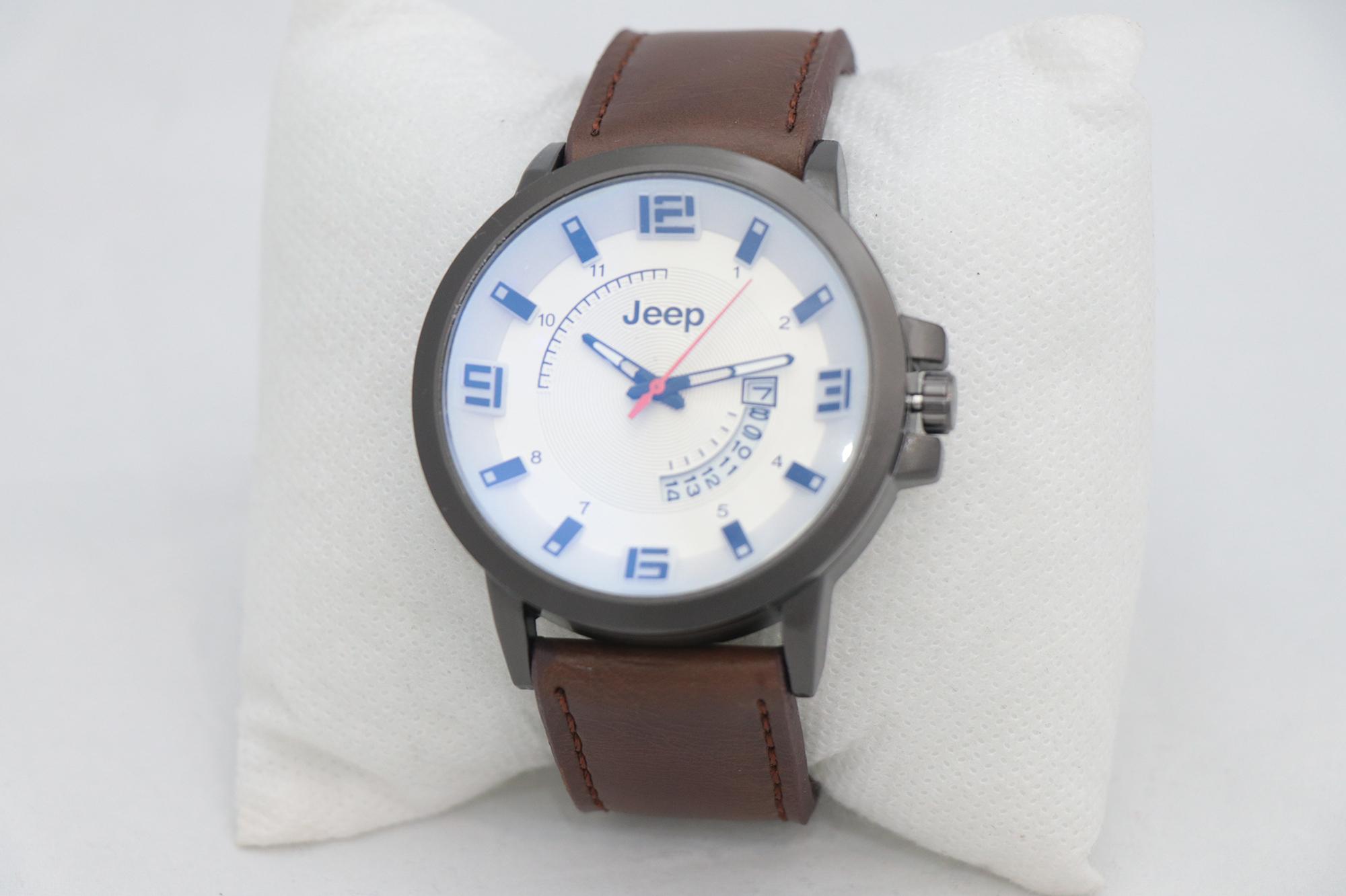 ساعت مچی عقربه ای مردانه جیپ مدل K61