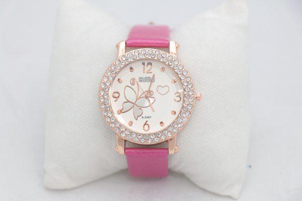 ساعت مچی عقربه ای زنانه KMS مدل 2012