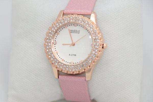 ساعت مچی عقربه ای زنانه KMS مدل 2706