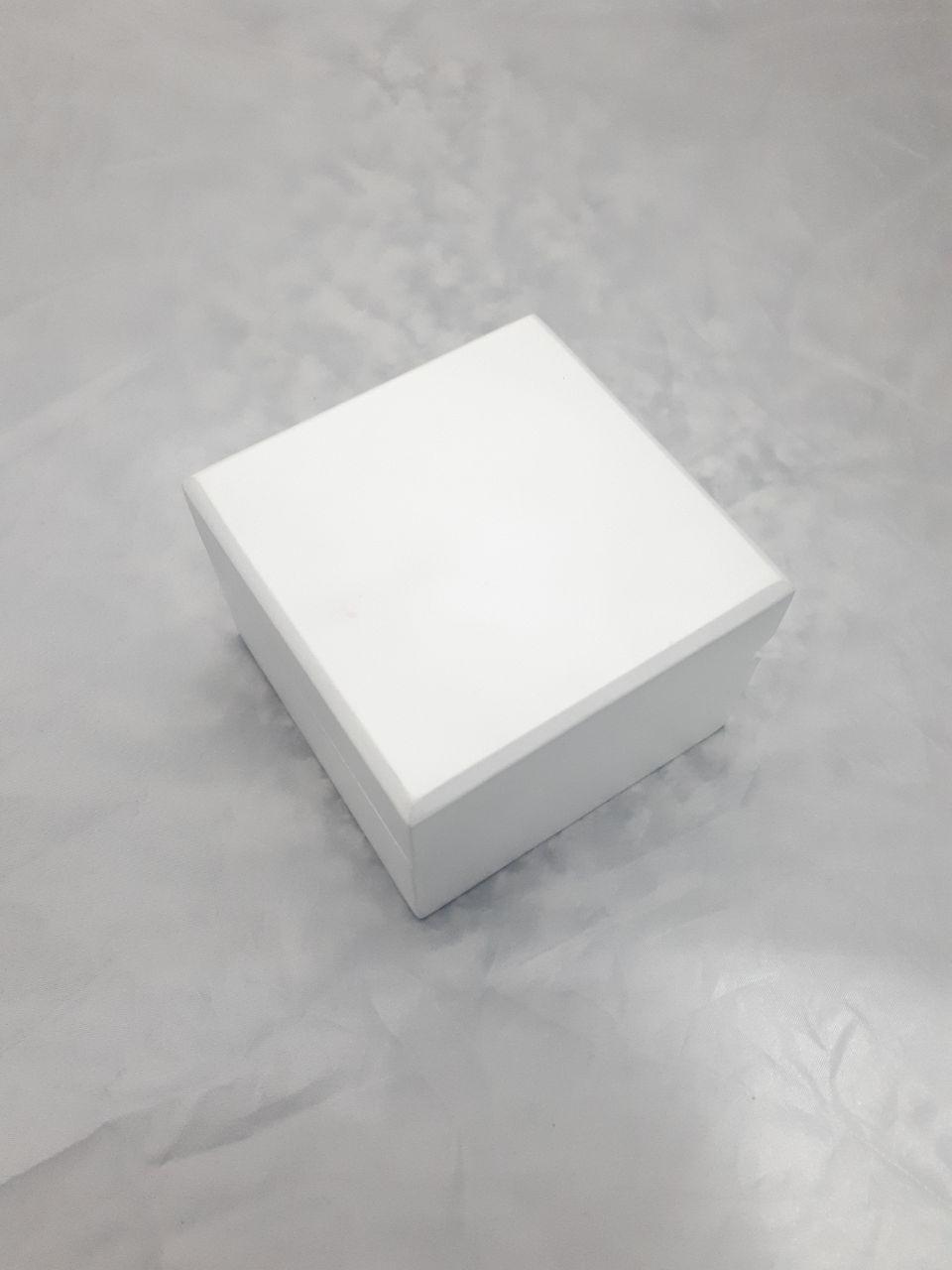 جعبه ساعت مچی بدون مارک سفید
