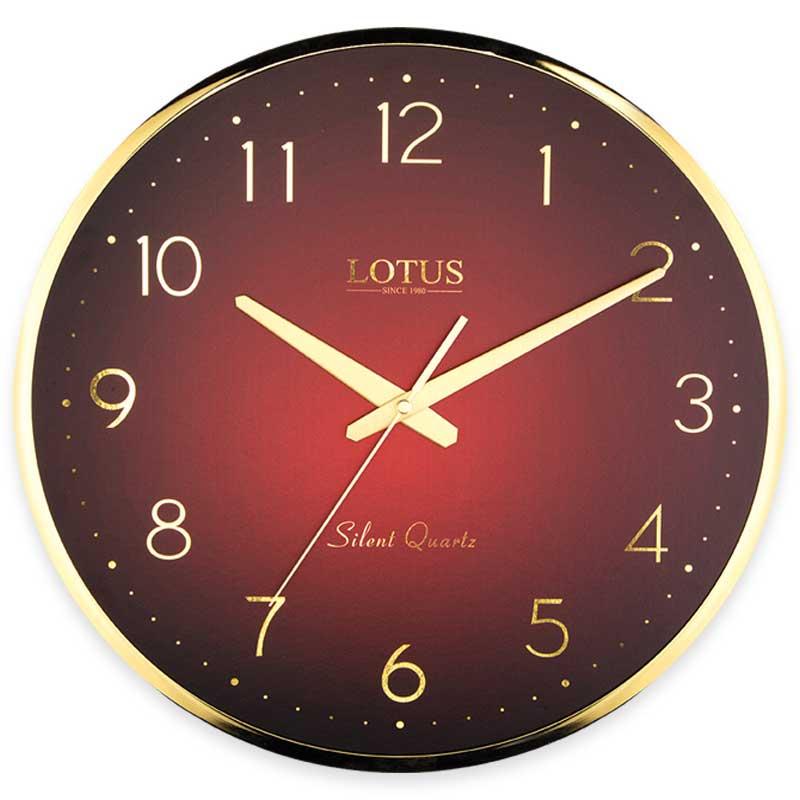 ساعت دیواری فلزی لوتوس مدل JACOB-M-6614