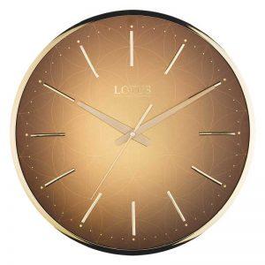 ساعت دیواری فلزی لوتوس مدل LEO-M-6616