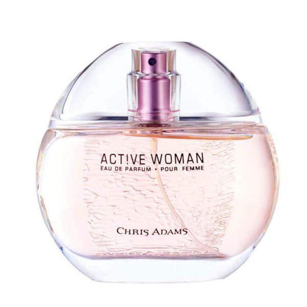 ادکلن زنانه کریس آدامز مدل اکتیو وومن حجم 80 میلی لیتر