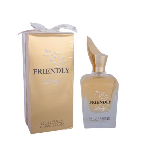 ادکلن زنانه فراگرنس ورد مدل Friendly Lady حجم 100 میلی لیتر