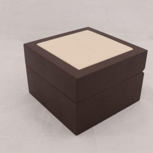جعبه ساعت مچی چوبی و چرم با مارک سیتیزن