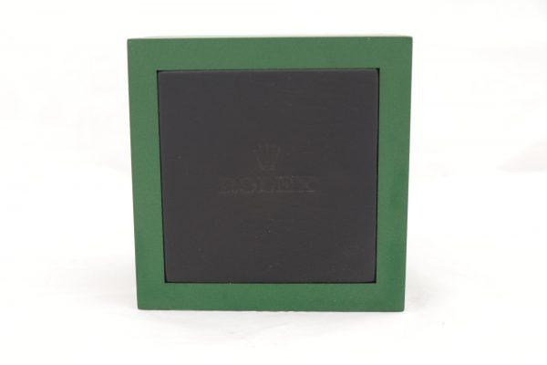 جعبه ساعت مچی چوبی و چرم با مارک رولکس