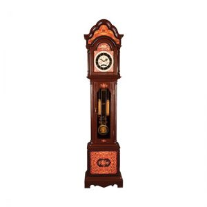 ساعت ایستاده چوبی معرق لوتوس مدل FLORENCE-XL230