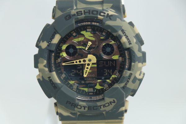 ساعت مچی عقربه ای مردانه کاسیو جی شاک مدل GA-100CM/1