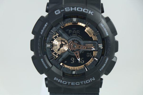 ساعت مچی عقربه ای مردانه کاسیو جی شاک مدل GA-110RG